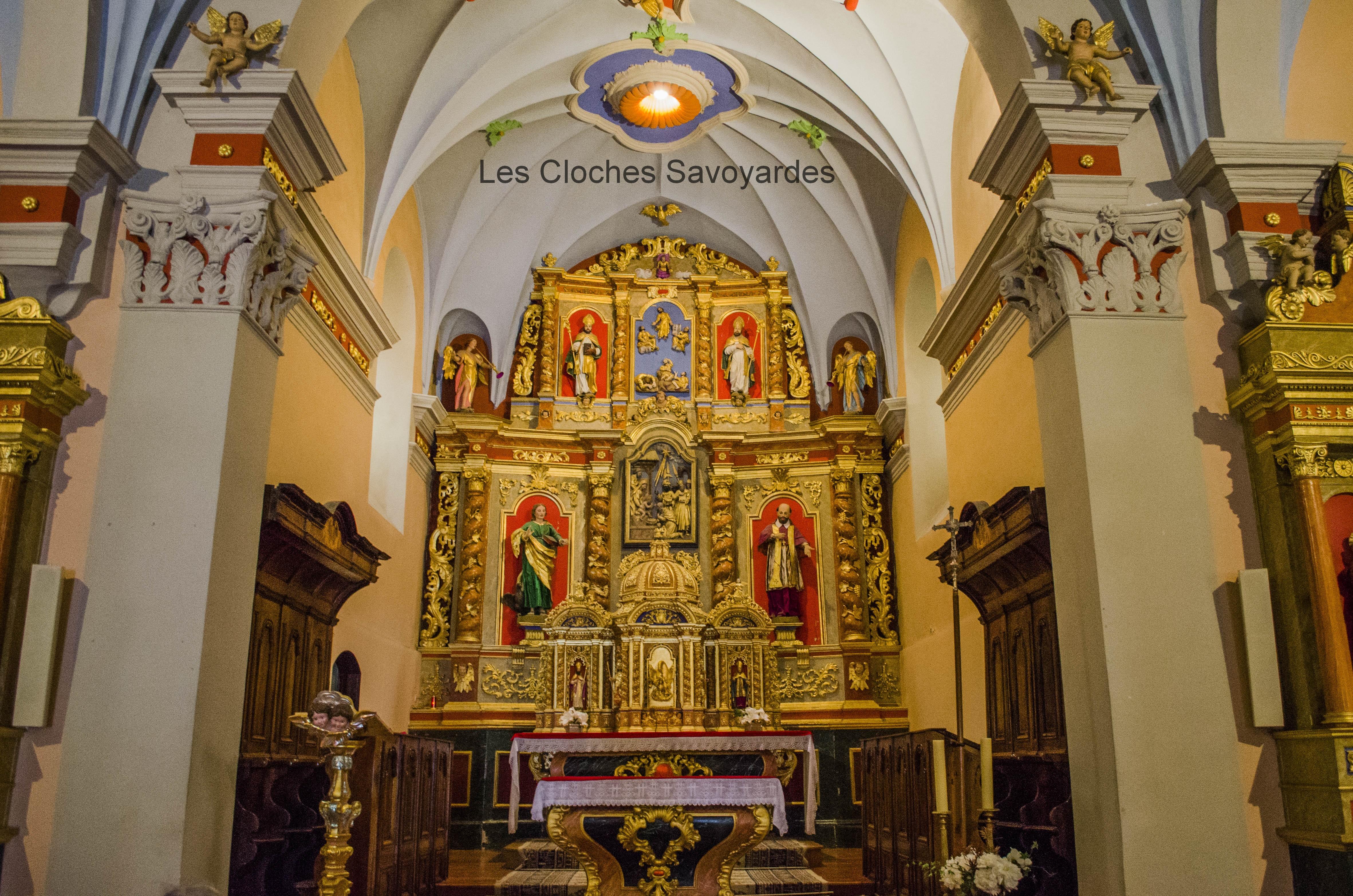 Superbe Chamonix-Mont-Blanc – Eglise Saint-Pierre (Argentière) | Les @FU_11