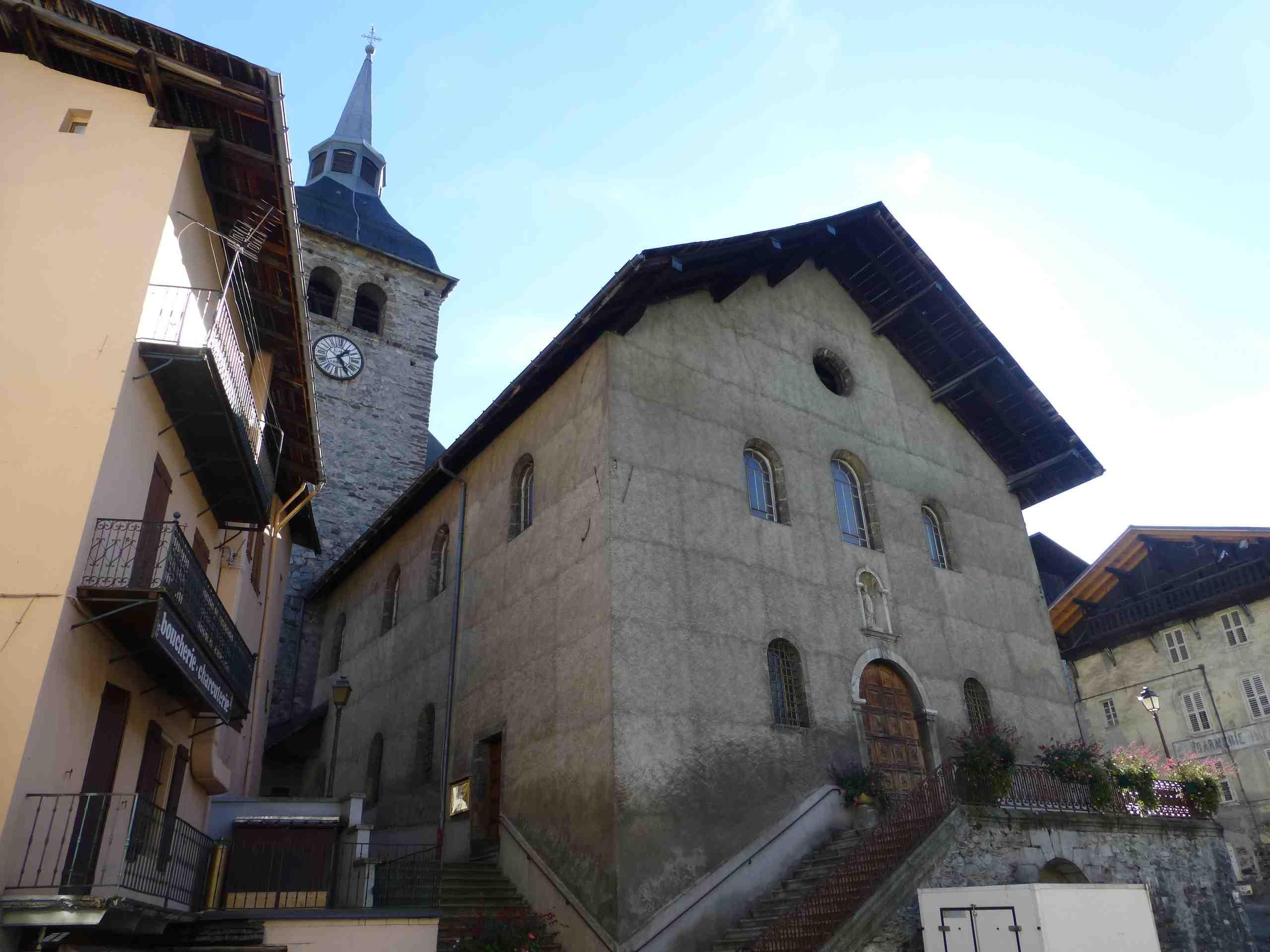 Beaufort eglise saint maxime les cloches savoyardes - Beaufort sur doron office du tourisme ...