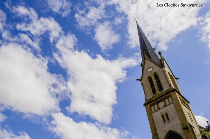 Le clocher du Sablon.